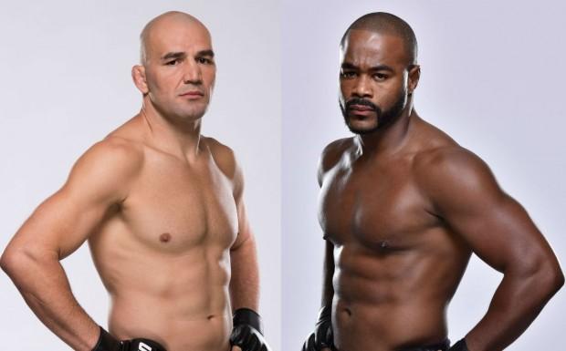 Glover (esq.) x Rashad (dir.) será a nova luta principal na Flórida. Foto: Divulgação/UFC