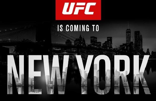 UFC NY acontece no dia 12/11. Foto: Reprodução