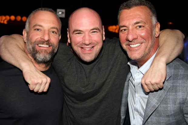 White e os irmãos Fertitta são os chefões do UFC