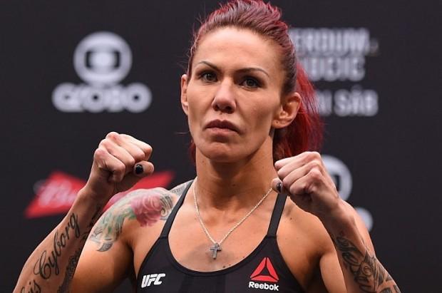 Cris (foto) não escondeu sua insatisfação com Dana. Foto: Buda Mendes/UFC