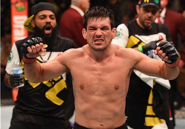 Demian bateu Condit na atração principal do UFC on FOX 21. Foto: Divugacao