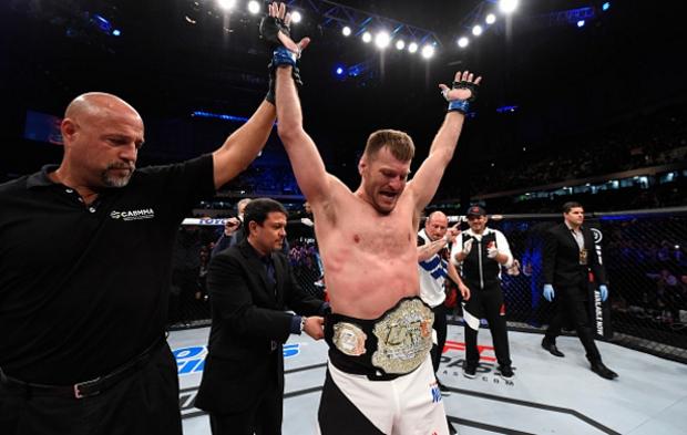 Miocic é o novo campeão dos pesados. Foto: Divulgação/UFC
