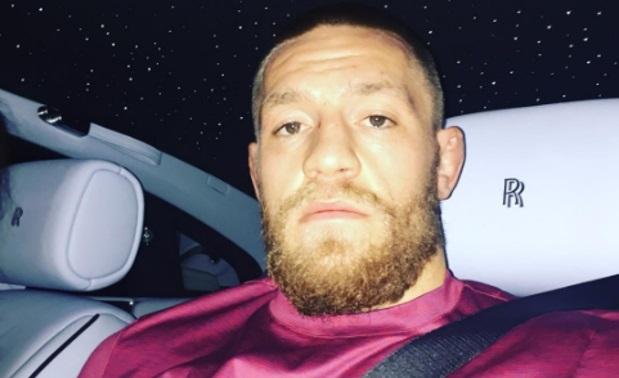 McGregor a bordo de seu Rolls Royce. Foto: Reprodução