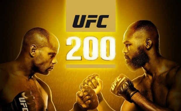 JJ e DC fazem a luta principal do UFC 200. Foto: Reprodução