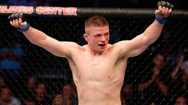 Story (foto) venceu Saffiedine em Vegas. Foto: UFC