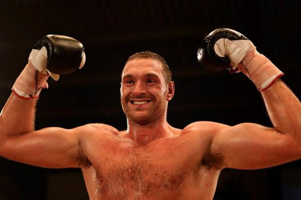 Fury é campeão mundial de boxe. Foto: Divulgação