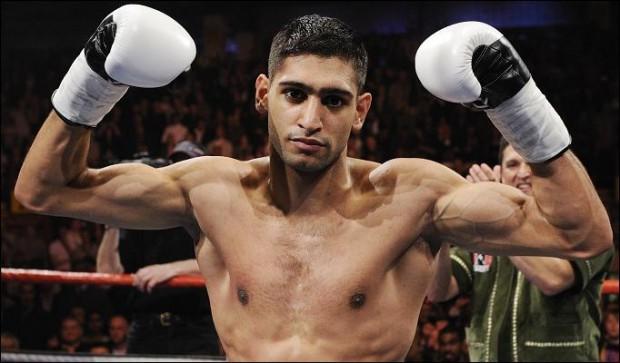 Amir Khan (foto)  tem 31 vitórias no boxe. Foto: Divulgação