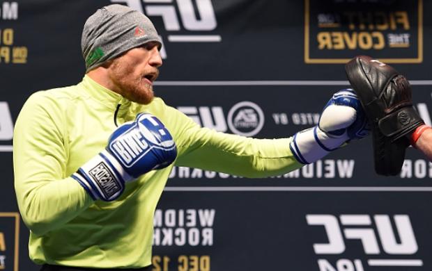 """McGregor está """"na febre"""" do boxe. Foto: Josh Hedges/UFC"""