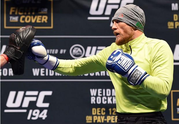 McGregor tem boxe de ponta, segundo pugilista olímpico. Foto: UFC