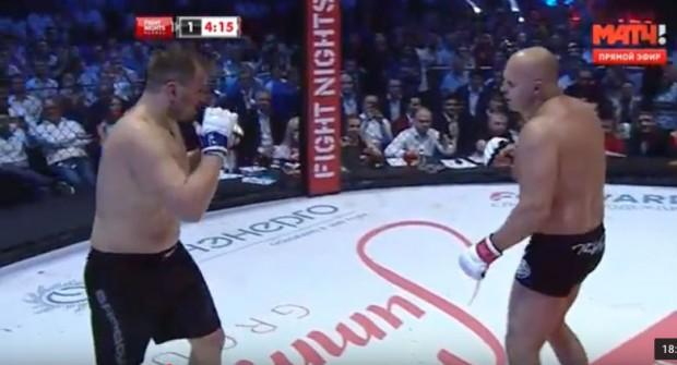 Assista à luta entre Fedor e Maldonado. Foto: Reprodução