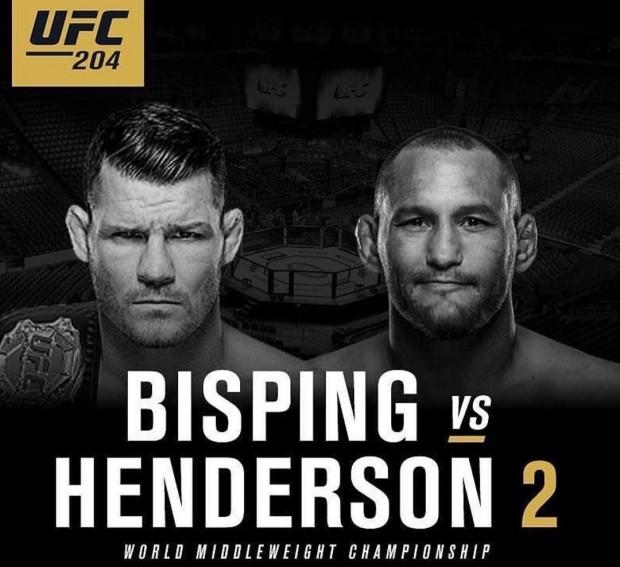 Hendo divulgou até pôster falso do UFC 204. Foto: Reprodução