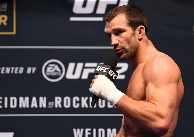 Rockhold é ex-campeão dos médios do UFC. Foto: Divulgação/UFC