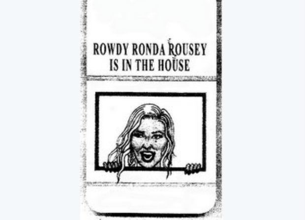 Ronda registrou logo bizarra nos Estados Unidos. Foto: Reprodução