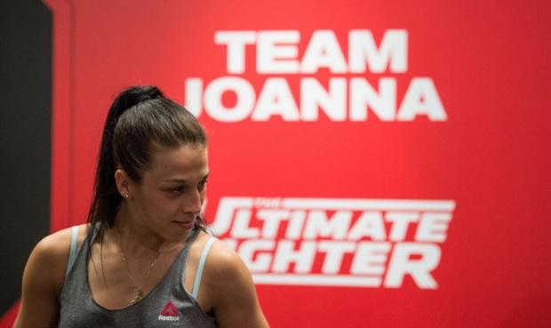 Joanna (foto) não está satisfeita com a edição do TUF. Foto: Josh Hedges/UFC