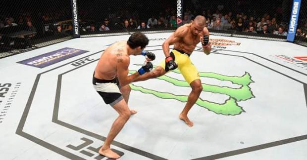 Barboza bateu Melendez no UFC Chicago. Foto: Divulgação/UFC