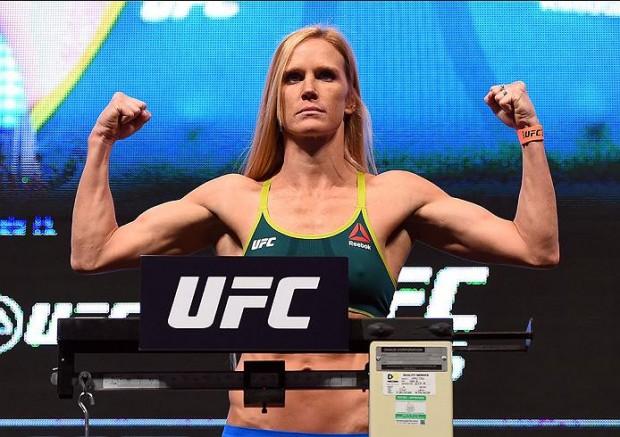 Holm é a grande estrela do UFC Chicago. Foto: Divulgação