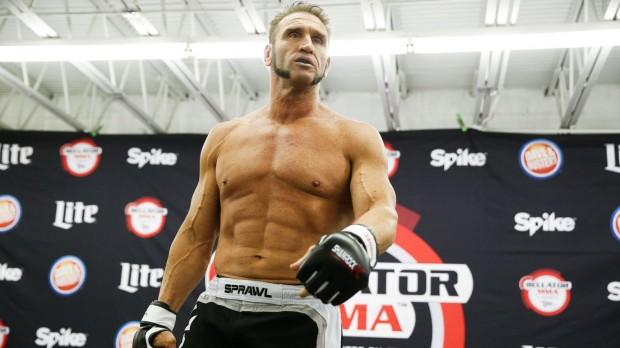 Shamrock caiu no antidoping em seu último combate. Foto: Divulgação/Bellator