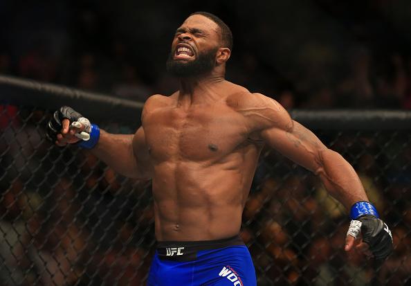 Woodley é o atual campeão dos meio-médios. Foto: Divulgação/UFC