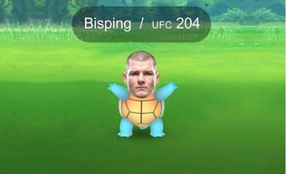 Bisping virou Pokemon em provocação de Jacaré. Foto: Reprodução