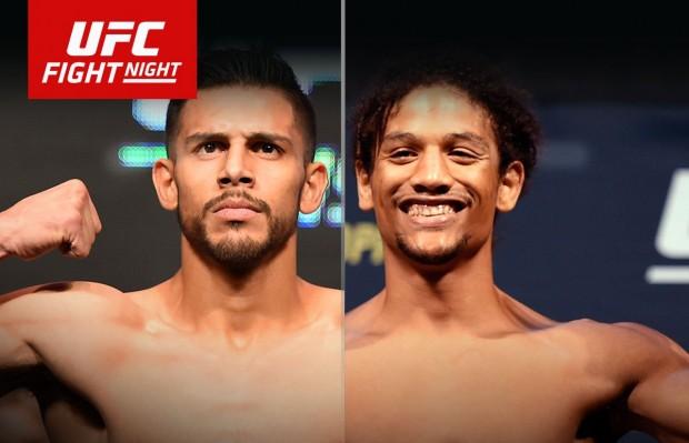 Rodriguez e Caceres fazem luta principal do UFC em Salt Lake City. Foto: Divulgação/UFC