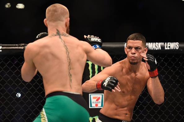 Diaz enfrentou McGregor por duas vezes. Foto: Divulgação/UFC