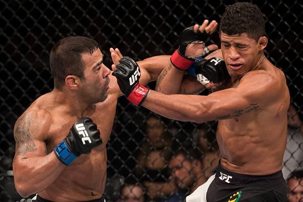 Trator venceu Durinho na decisão unânime dos juízes. (Foto: Getty Images)
