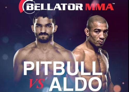 Pitbull propôs luta com Aldo no Bellator. Foto: Reprodução