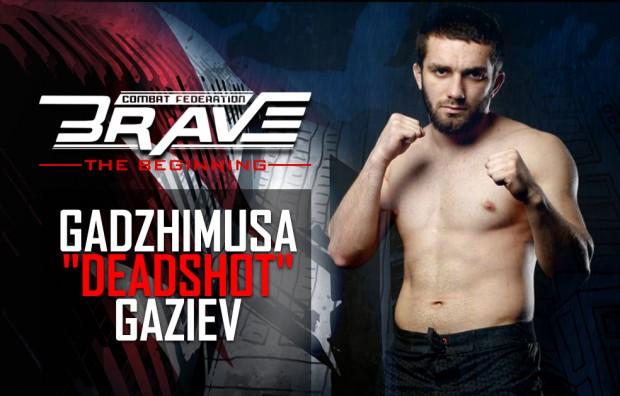 Gaziev é o novo adversário do brasileiro no Brave CF. Foto: Divulgação