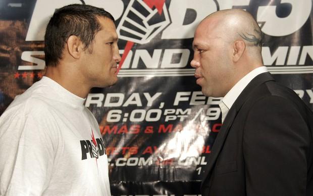 D. Henderson (esq) e W. Silva já se enfrentaram em duas oportunidades. (Foto: Getty Images)