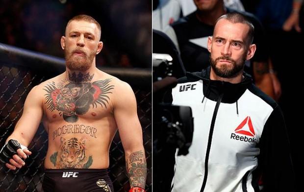 McGregor elogiou a iniciativa de CM Punk no UFC. Foto: Produção SUPER LUTAS (Divulgação/UFC)