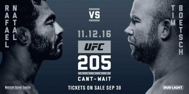 Sapo enfrenta Boetsch no UFC 205. Foto: Divulgação/UFC
