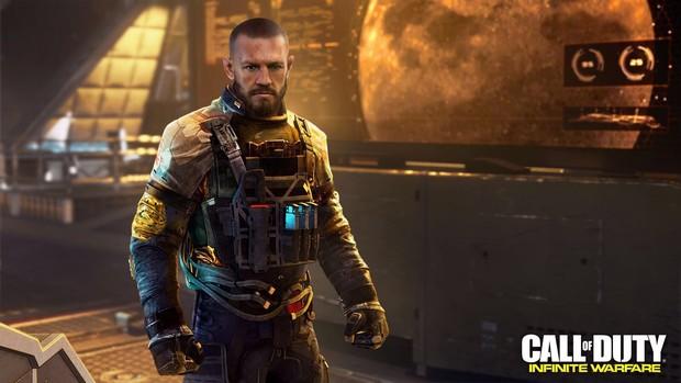 """McGregor vai estrelar o jogo """"Call of Duty"""". (Foto: Divulgação)"""