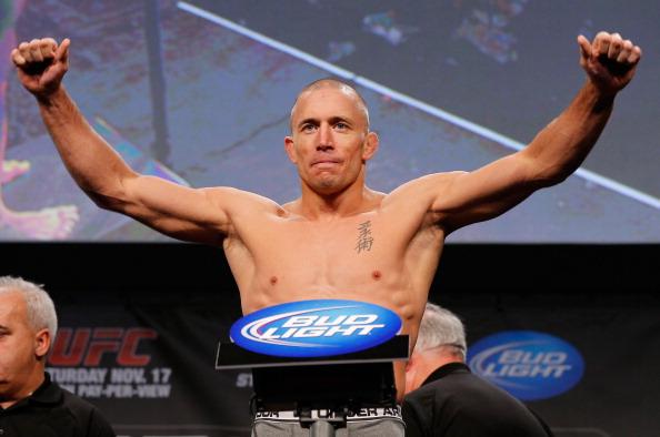 UFC 154 Weigh In