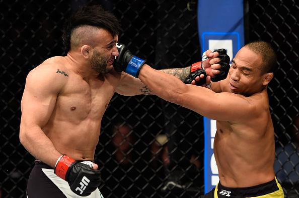 Lineker e Dodson fizeram a luta principal em Portland. Foto: Divulgação/UFC