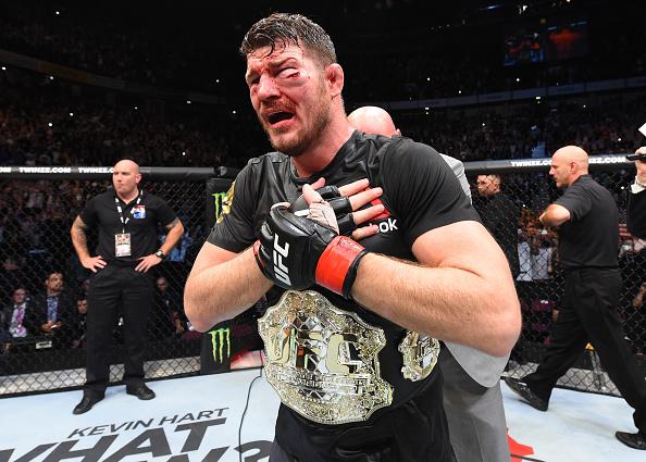 Bisping saiu vencedor da luta principal do UFC 204. Foto: Josh Hedges/UFC