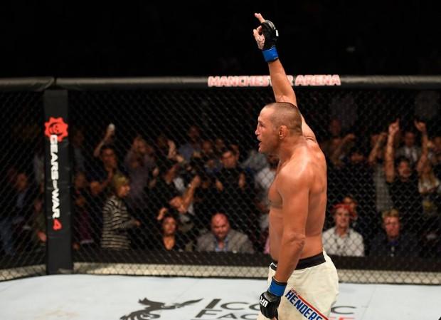 Henderson se aposentou do MMA depois de luta com Bisping. Foto: Divulgação/UFC