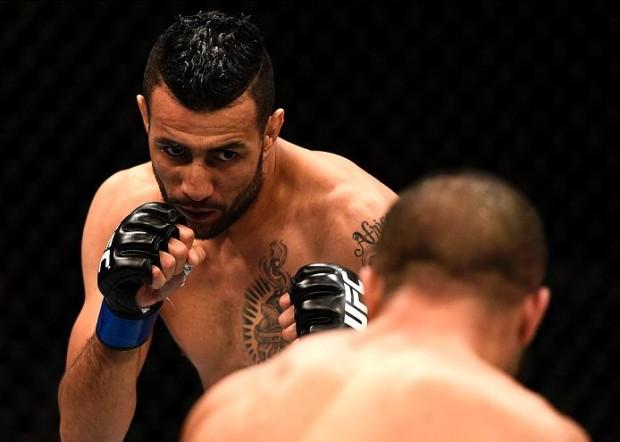 Baghdad foi demitido do UFC. Foto: Divulgação