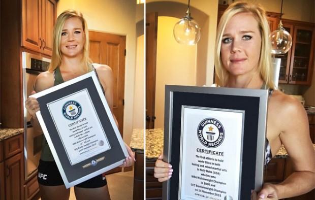 Holm agora faz parte do Guinness Book (Foto: Divulgação)