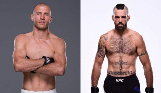 Cerrone (esq) e Brown (dir) vão se enfrentar dia 10 de dezembro, no Canadá. (Foto: Produção SUPER LUTAS (Divulgação/UFC)