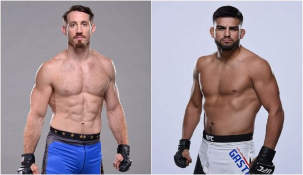 Kennedy (esq) e Gastelum (dir) vão se enfrentar dia 10 de dezembro, em Toronto (CAN). (Foto: Produção SUPER LUTAS (Divulgação/UFC)
