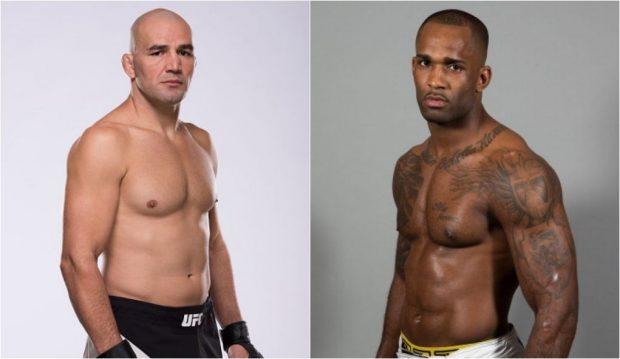 Glover (esq) e Manuwa (dir) vão se enfrentar no UFC 208, em janeiro. (Foto: Getty Images)