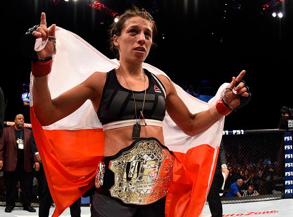 Joanna é campeã peso palha do UFC desde março de 2015. (Foto: Getty Images)