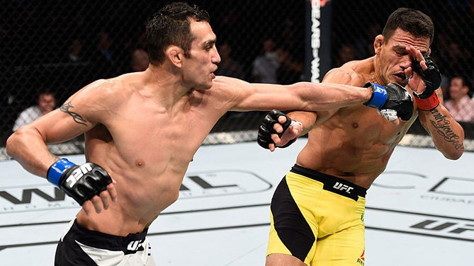 Ferguson bateu Dos Anjos no México. Foto: Divulgação/UFC