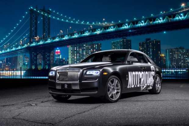 McGregor vai andar de Rolls Royce personalizado em Nova York. Foto: Divulgação