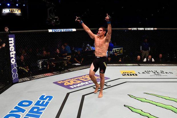Mutante brilhou no UFC SP. Foto: Divulgação/UFC