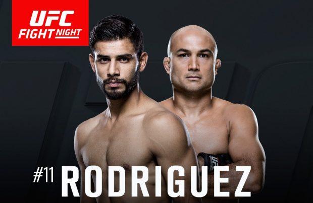 Penn e Rodriguez fazem a luta principal do UFC Phoenix. Foto: Divulgação