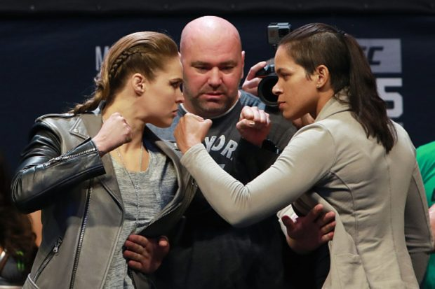 Ronda e Amanda lutarão no UFC 207 (Foto: Getty Images)