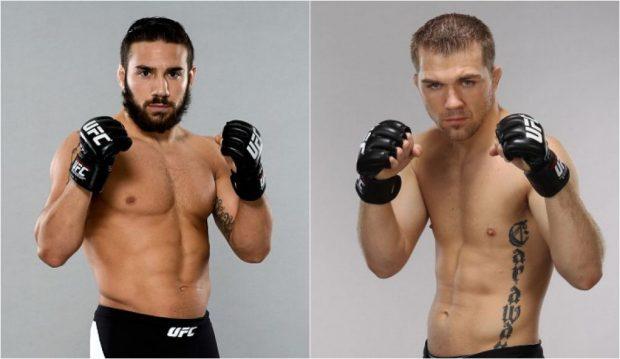 Rivera (esq) e Caraway (dir) vão se enfrentar dia 15 de janeiro. (Foto: Produção SUPER LUTAS (Divulgação/UFC)