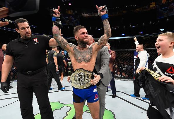 Garbrandt é o novo campeão peso galo do UFC. (Foto: Getty Images)