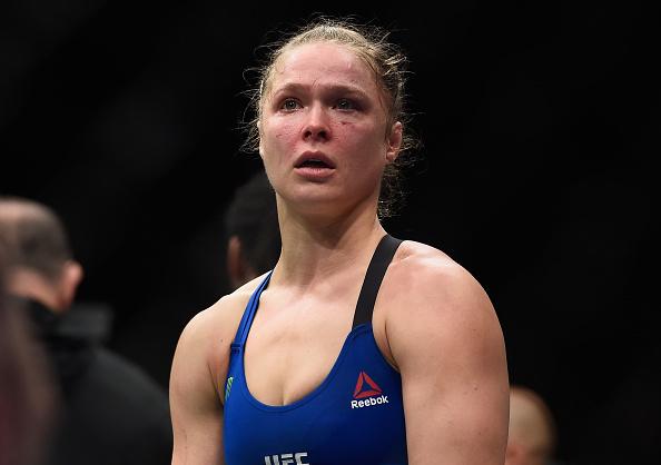 Ronda voltou a utilizar as redes sociais após derrota para Amanda. (Foto: Getty Images)